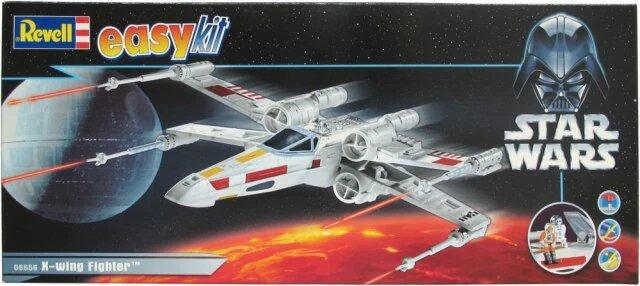 modèles de X Wing de chez Revell : premier boîtage