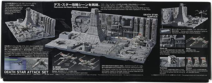 Bandai Death Star attack set