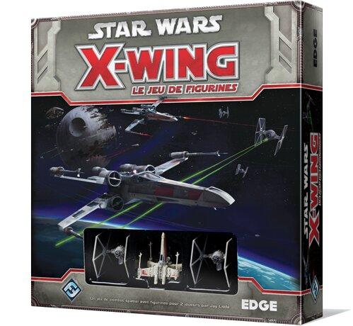 modèles de X Wing le jeu de figurines : boîtage de la version 1