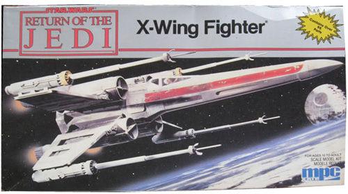 Maquette de X-Wing MPC - second boîtage